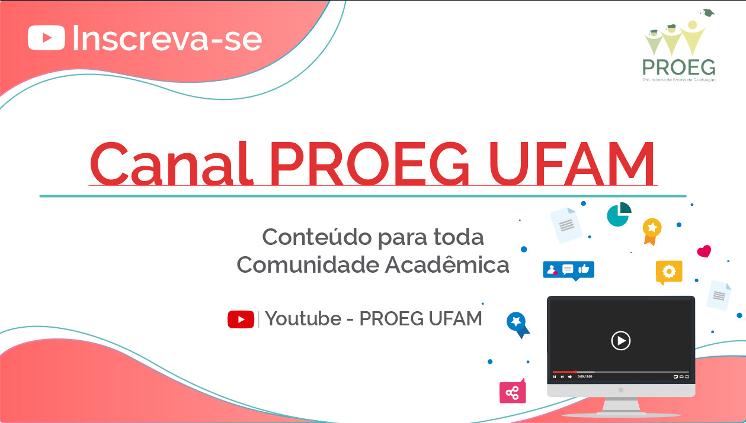 Acompanhe eventos e notícias sobre Graduação, faça sua inscrição no canal do YouTube aqui