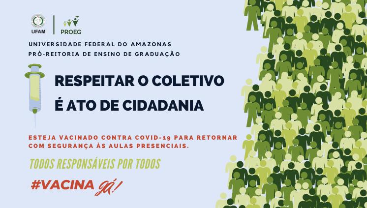 Retorne as Aulas com Segurança, #vacinajá