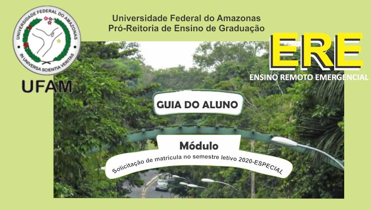 Atenção alunos, Proeg disponibiliza Guia do Aluno sobre o Ensino Remoto Emergencial