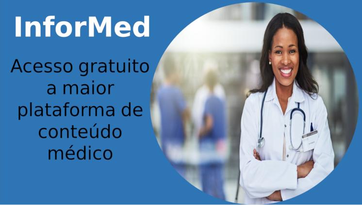 Plataforma Informed abre acesso gratuito para conteúdos médicos