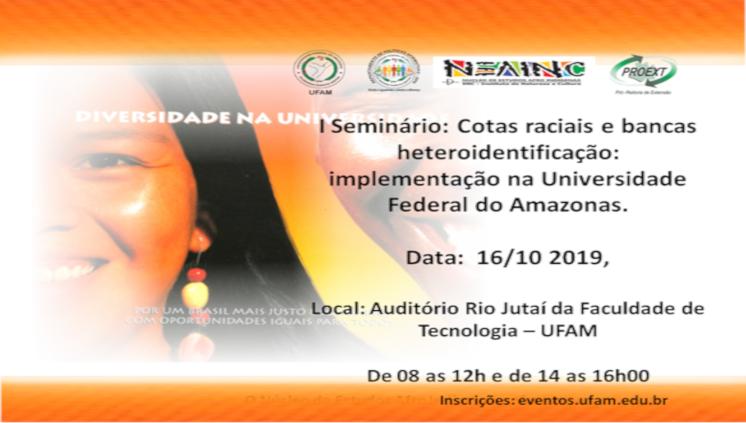 Comissão de Heteroidentificação promove seminário para debater sobre Políticas Afirmativas para grupos autodeclarados