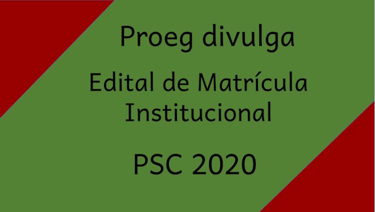 Para matrícula institucional, candidatos devem realizar o pré-cadastro estudantil no Portal do Calouro