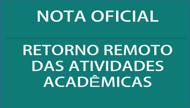 Em Nota Ufam esclarece sobre retorno remoto das atividades acadêmicas
